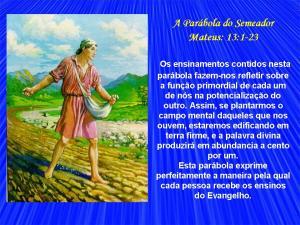 18- A Parábola do Semeador